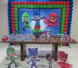 Faça sua festa do seu filho com o tema PJ Masks