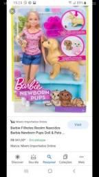 Barbie usada comprada no exterior