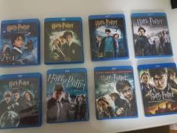 Coleção completa blu-ray (Harry Potter) e (As Crônicas de Nárnia)