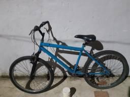 Bicicleta aro 26 21 marcha com amortecedor