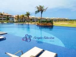 Apartamento no Golf Ville Resort vista mar com 3 suítes - Porto das Dunas