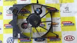 Carenagem defletor suporte ventoinha eletroventilador renault sandero logan symbol