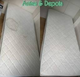 Limpeza e Lavagem a seco em colchões