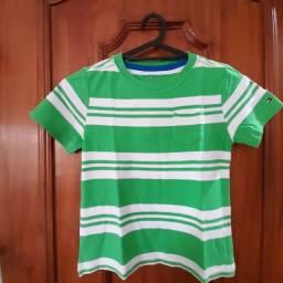 Camisa de malha - marca: Tommy Hilfiger, tamanho: 04 anos