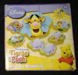 Vendo Jogo da memória de madeira Tigrão e Pooh