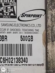 Título do anúncio: HD Samsung de 500 gigas