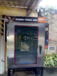 Forno de pão  gustromaq forno turbo gaz