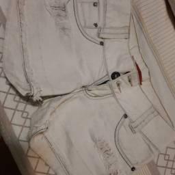 Vendo short jeans, tamanho 36