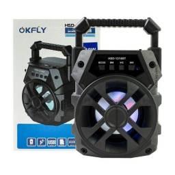 Caixa de Som Bluetooth Okfly HSD-1314 10W