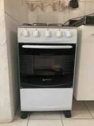 Fogão Atlas com 4 bocas e forno - 110v