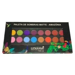 Paleta de Sombras Matte Amazônia Ludurana