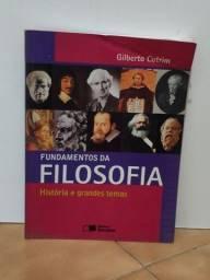 Título do anúncio: Livro fundamentos da Filosofia