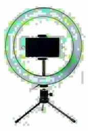 Ring Light 8 20cm Iluminação Profissional Led Selfie Tripé
