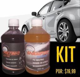 Kit pretinho e shampoo promocional (entrega grátis)
