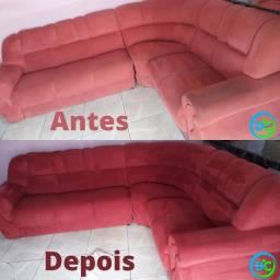 Limpeza de sofá, colchão, poltrona, pulf, cabeceira de cama e banco de automóveis