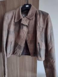 Título do anúncio: Casaco jaqueta de couro