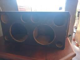 Caixa de som usada