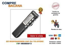 Gravador De Voz Digital Mp3 8gb Microfone Lapela Gravador Espião