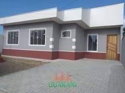Casa nova com 3 quartos em Paranaguá. FINANCIA