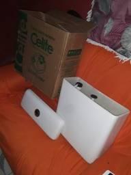 Caixa para acopla celite fit plus ecoflush Branco