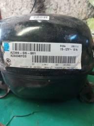 Motor de geladeira conservado silencioso
