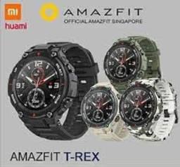Amazfit T Rex Verde/Preto( Somente Hoje Seu amor Vai Gostar)