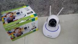 Título do anúncio: Câmera Ip 2 antenas Wifi Sem Fio Vigilância Pelo Celular