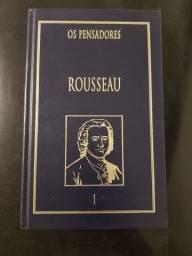 Livros 1 e 2 do Rousseau - Coleção Os Pensadores