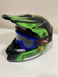 Kit Infantil Trilha/Motocross SEMI NOVO