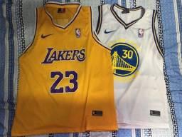 Camisas de Basquete - Jerseys NBA Lakers, Golden States