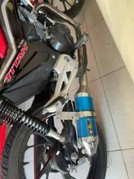KS racing Titan 150/160 azul ou roxo