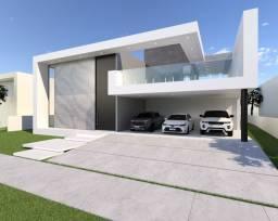 Casa em construção no condominio laguna