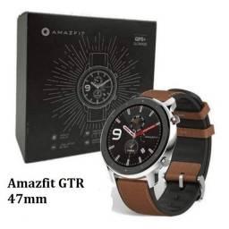 Amazfit GTR 47mm Preto/Prata