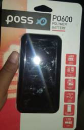Carregador de bateria portátil POSS PO600 universal