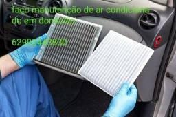 Título do anúncio:  manutenção e Ingienizacao de ar condicionado veicular