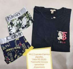 Conjuntos com Bermudas e Camisa