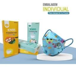 Kn 95 Infantil modelos exclusivos Aileda. Embalagem individual.