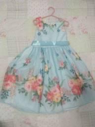 Título do anúncio: Vestido infantil de festa jardim