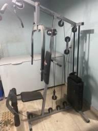 Musculação em casa. Aparelho completo. Estação de musculação 70k