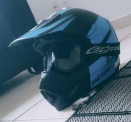 Capacete de Motocross