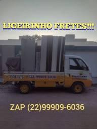Título do anúncio: LIGEIRINHO FRETES (em Rio das Ostras)