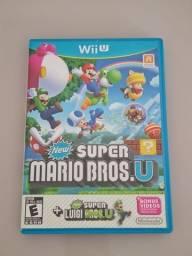 New super Mario bros u + New super Luigi u (versão de wii u)
