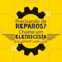 Título do anúncio: Eletricista-Particular 24h