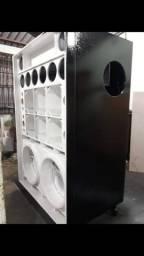 Caixa para paredão de som