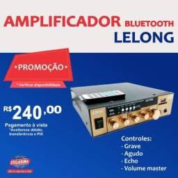 Mini Módulo Amplificador Lelong LE-705 ? Entrega grátis