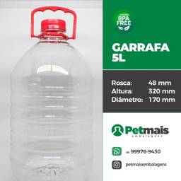 Garrafa 5 LITROS- MENOR PREÇO