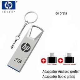 Pen Drive HP 2TB + Brinde