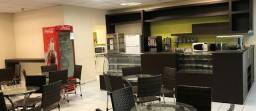 Instalação para lanchonete e cafeteria