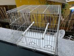 Gaiola canários passarinho usada