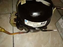 Motor de geladeira 1/4 usado